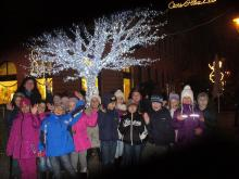Adventi séta Debrecenben